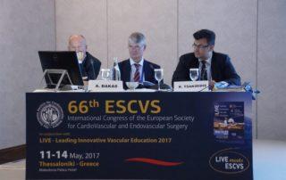 Συνέδριο της Πανευρωπαϊκής ΕταιρείαςΚαρδιαγγειακής χειρουργικής