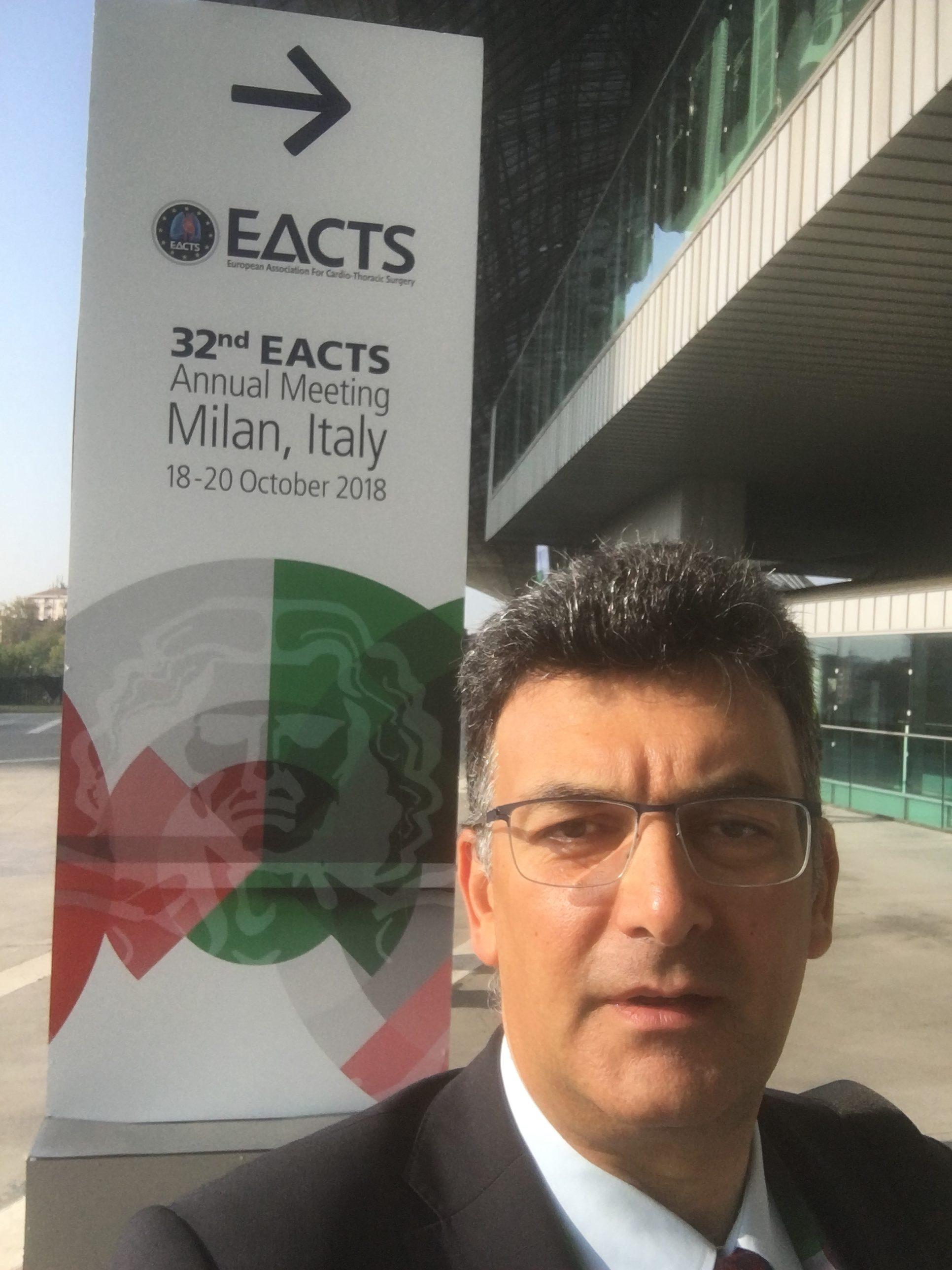 συνέδριο Ευρωπαϊκής Εταιρείας ΚαρδιοΘωρακοχειρουργικής